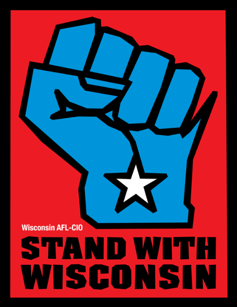 Stand with                                             Wisconsin