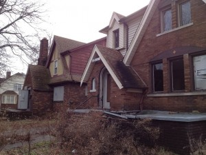Homes in Detroit hit by Fannie Mae foreclosures and destroyed by their neglect
