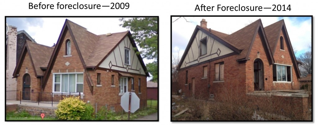 Before & After foreclosed